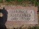 Profile photo:  Terrance J Alexander
