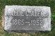 Profile photo:  Mallie Catherine <I>Cowden</I> Alford