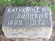 Catherine M Burrows