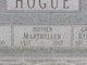 """Martha E. """"Marthellen"""" <I>Bolander</I> Hogue"""