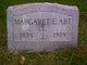 Margaret Susan <I>Eberhart</I> Abt