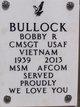 Profile photo: CMSGT Bobby Ray Bullock
