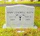 Profile photo:  Mary Jane <I>Falwell</I> Allen
