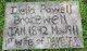 """Idella """"Della"""" <I>Powell</I> Bracewell"""