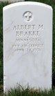 Profile photo: Pvt Albert M Brakke
