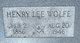 Henry Lee Wolfe