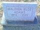 Profile photo:  Malinda <I>Rust</I> Adams