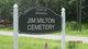 Jim Milton Cemetery