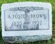 Alfred Foster Brown