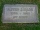 Profile photo:  Alfred J. Allen
