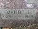 Maude Leona <I>Snodgrass</I> Allen