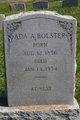 Profile photo:  Ada A. Bolster