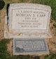 Photo of Morgan Earp