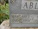 """Margaret Isabelle """"Belle"""" <I>Pickering</I> Ables"""