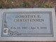 Dorothy E. Christensen