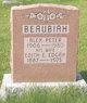 Profile photo:  Edith E <I>Edgar</I> Beaubiah