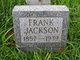 """Benjamin Franklin """"Frank"""" Jackson"""