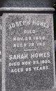 Sarah <I>Ford</I> Howes