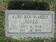 Ruby Bea <I>Blakely</I> Jones
