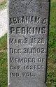 Profile photo:  Abraham Chesterfield Perkins