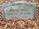 Minnie Davis