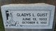 Profile photo:  Gladys L. Guist