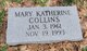Profile photo:  Mary Katherine Collins