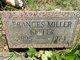 Profile photo:  Frances <I>Miller</I> Keefer