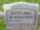 Betty Jane Buffington