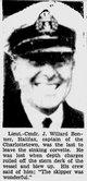 Lt-Cmdr John Willard Bonner
