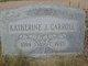 Katherine Jane <I>Conklin</I> Carroll