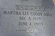 Martha Lee <I>Thomas</I> Abel