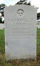 PFC Carroll J Emmel