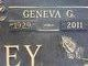 Profile photo:  Geneva Geraldine <I>Land</I> Bentley