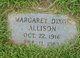 Margaret <I>Dixon</I> Allison