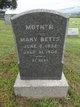 Profile photo:  Mary <I>Koons</I> Betts
