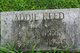 Profile photo:  Addie Bush <I>Reed</I> Norris