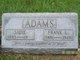 Profile photo:  Frank Lloyd Adams