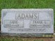 "Profile photo:  Sarah B ""Sadie"" <I>Bond</I> Adams"