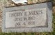 Timothy R Barney