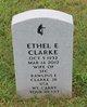 Profile photo:  Ethel E Clarke