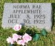 Norma Rae Applewhite