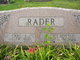 Profile photo:  Gladys <I>Stoecker</I> Rader