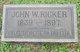 John W. Ricker
