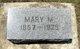 Mary M. <I>Schlotfelt</I> Holck