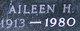 Profile photo:  Aileen Helen <I>Witt</I> McGee