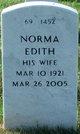 Profile photo:  Norma Edith Bradlyn