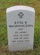 Profile photo:  Etta R Washington