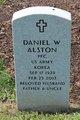 Profile photo:  Daniel W. Alston