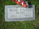Nellie D. <I>Walsh</I> Adams